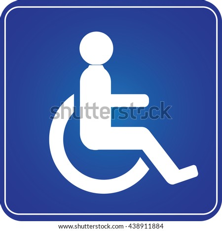 Handicap Parking Or Wheelchair Accessible Sign