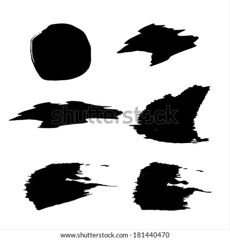 handmade black strokes- backgrounds