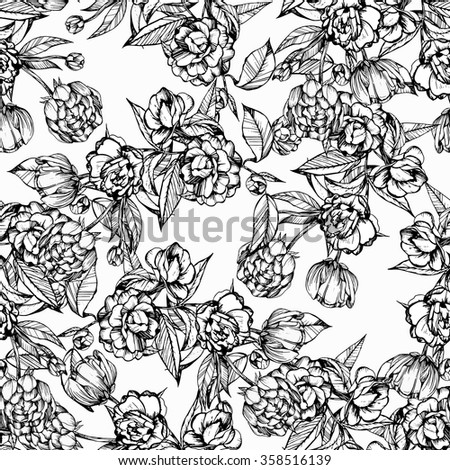 handmade seamless pattern coloring books for children and adultsblack and white - Coloring Books For Children