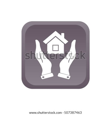hands and house icon