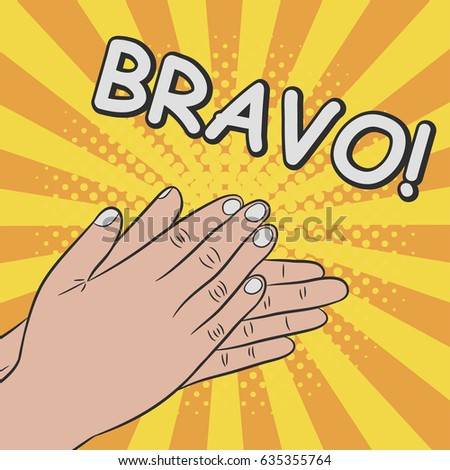 Image result for animated bravo hand clapping