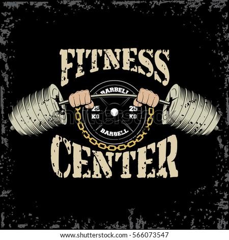 bodybuilding logos graphic design clipart library