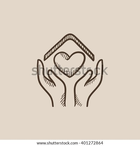 Heart Sketch Stock Images Royalty-Free Images U0026 Vectors | Shutterstock