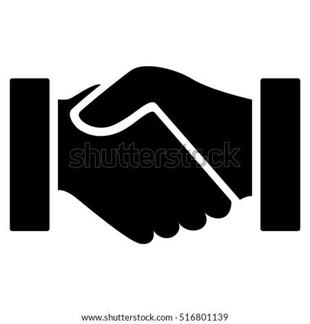 handshake vector icon flat black symbol stock photo photo vector rh shutterstock com handshake vector icon free download vector handshake icon
