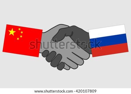 Handshake china russia flag handshake icon stock vector 420107809 handshake with china and russia flag handshake icon business agreement handshake hand shake platinumwayz