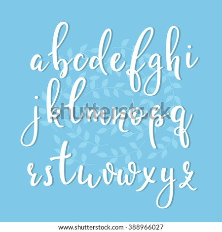 Cute Cursive Calligraphy Stock Photos Royalty Free Images