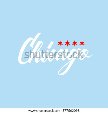 chicago city flag stock images, royalty-free images & vectors