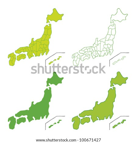 Japan Map Vector Stock Images, Royalty-Free Images & Vectors ...
