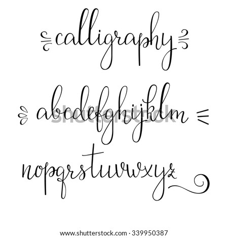 Cursive Font Stock Photos, Royalty-Free Images & Vectors ...
