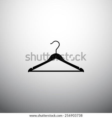 hanger  icon - stock vector