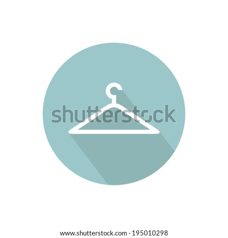 Hanger icon. Vector illustration - stock vector