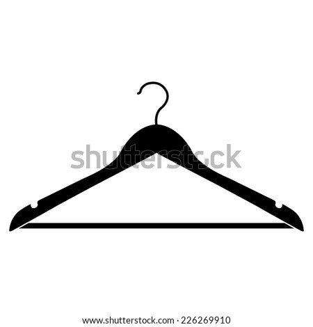 hanger vector icon - stock vector