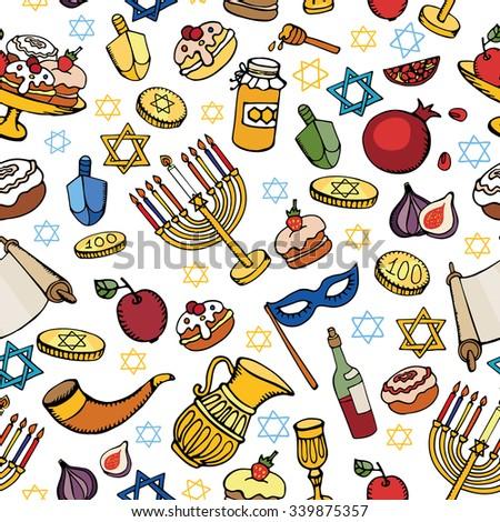 Año Nuevo Judío Banco de imágenes. Fotos y vectores libres de ...