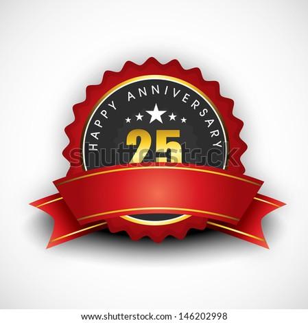 Anniversary Banner Vector Stock Vector Happy Anniversary