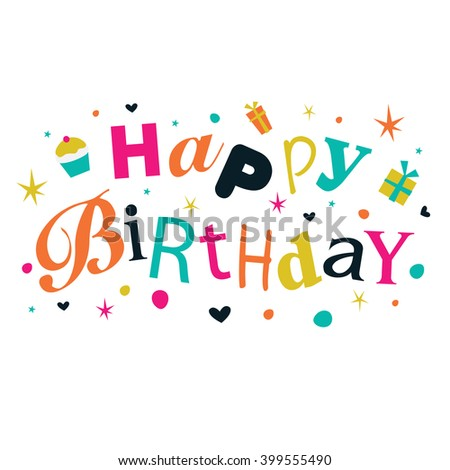 happy birthday banner ベクター画像素材 399555490 shutterstock