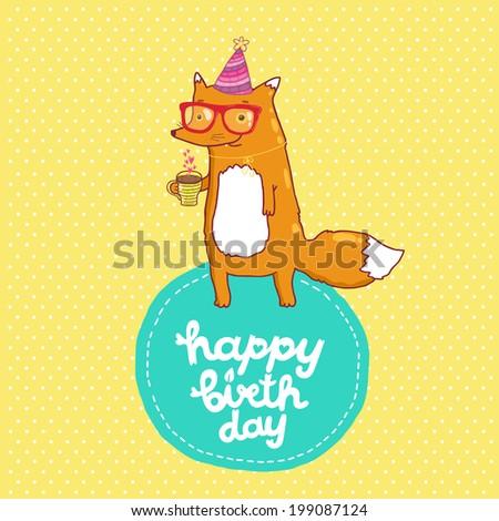Happy Birthday Card Background Cake Vector Vector 184884611 – Template Happy Birthday Card