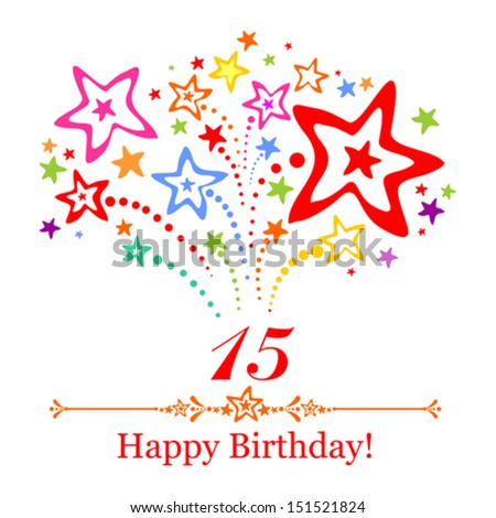 15 Birthday Stock Images Royalty Free Images Amp Vectors