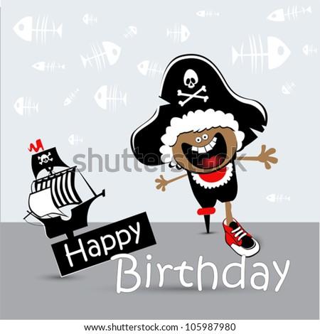 согласно этому пиратский фото баннер на день рождения объявлений