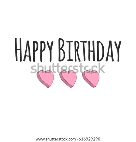 Happy birthday card illustration vector format stock photo photo happy birthday card illustration in vector format bookmarktalkfo Choice Image