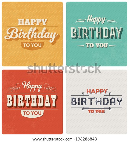 Happy Birthday Card Images RoyaltyFree Images Vectors – Www.happy Birthday Cards.com