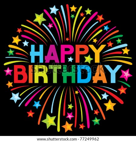 Happy birthday text stock photos royalty free images amp vectors