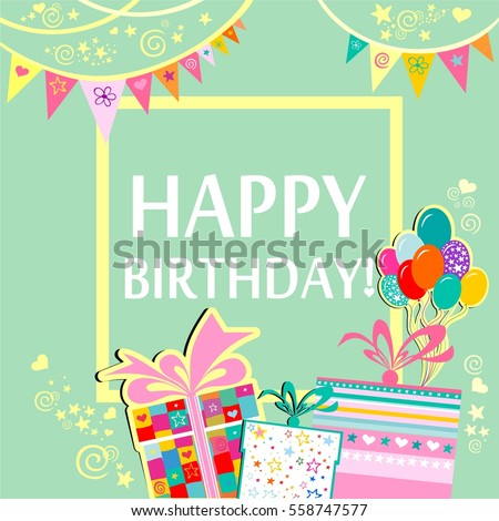 Happy Birthday Card Images RoyaltyFree Images Vectors – Card Happy Birthday