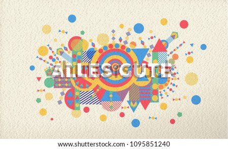 Happy birthday greeting card illustration german stock vector happy birthday greeting card illustration in german language special event typography art ideal for invitation stopboris Gallery