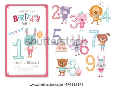 Happy Birthday Invitation Template Birthday Anniversary – Happy Birthday Invitation Template
