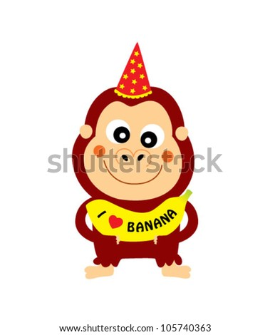 Monkeys Birthday Stock Photos, Royalty-Free Images & Vectors ...