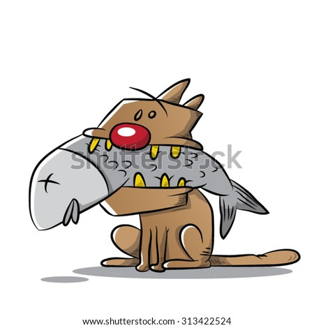 Stinky stock vectors vector clip art shutterstock for Stinky fish in a can