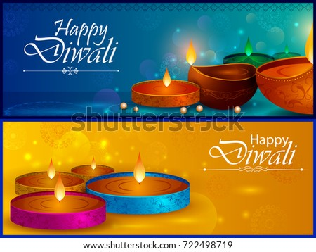 Happy diwali light festival india greeting stock vector 2018 happy diwali light festival of india greeting background in vector m4hsunfo