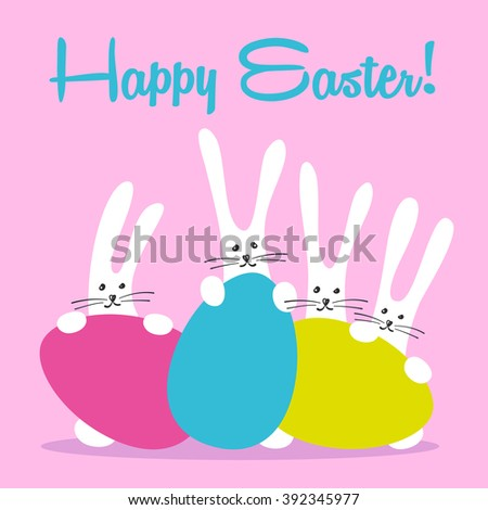 Cute Easter Template Stock Images, Royalty-Free Images & Vectors