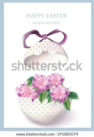 Happy Easter Card Stock Images, Royalty-Free Images & Vectors