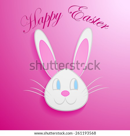 Happy Easter | Easter Bunny Ears Vector. eps 10 - stock vector