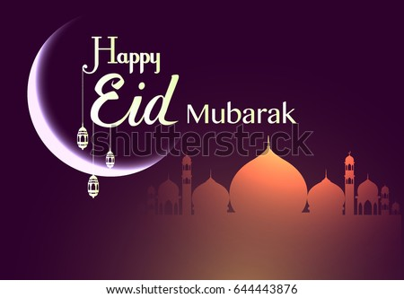 Happy eid mubarak greetings background elegant stock vector royalty happy eid mubarak greetings background elegant element for design template place for text greeting m4hsunfo