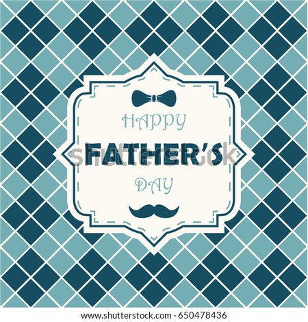 Happy fathers day greeting card dad stock photo photo vector happy fathers day greeting card for dad template for poster banner m4hsunfo