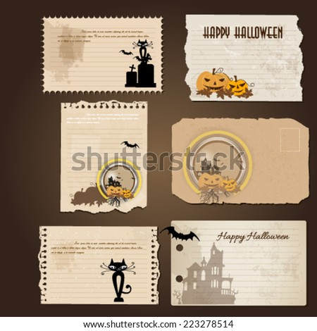 Happy Halloween design background