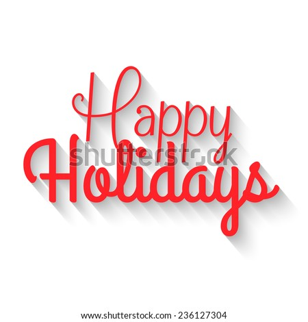 Happy Holidays Banner Stock Images, Royalty-Free Images & Vectors ...
