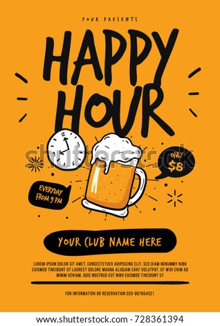 Happy Hour Drink Stock Images Royalty Free Images