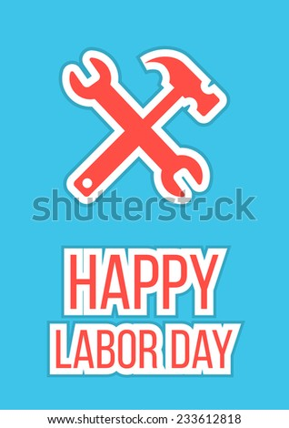 Poster For Labor Day Stock Images, Royalty-Free Images & Vectors ...