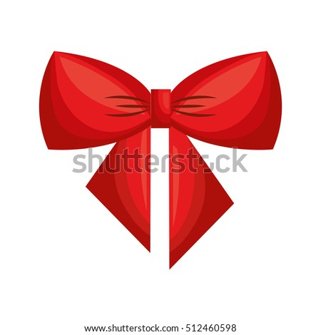 happy merry christmas bow ribbon card