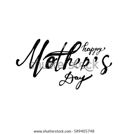 Mothers Day Text Stock Images RoyaltyFree Images  Vectors