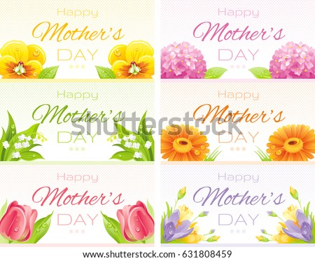 Happy mothers day greeting card design stock vector hd royalty free happy mothers day greeting card design floral watercolor pattern background spring poster nature m4hsunfo