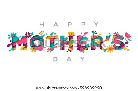 Mother's day vouchers template