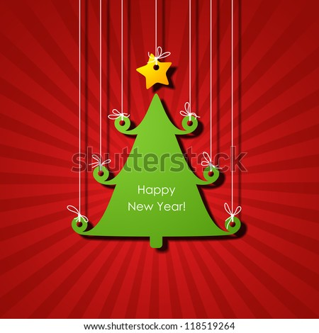 happy new year, eps10 - stock vector