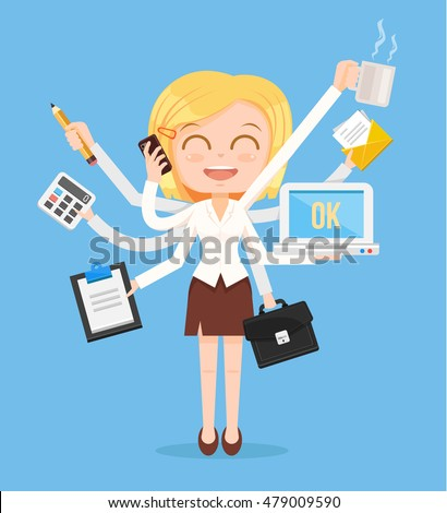 stock-vector-happy-office-woman-characte