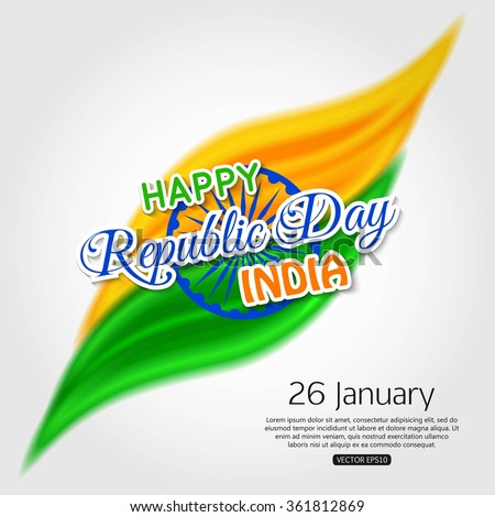 Happy republic day india background stock vector 361812869 happy republic day india background m4hsunfo