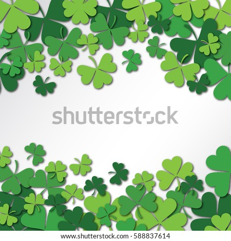 Shamrock stock images royalty free images vectors shutterstock happy saint patricks day background clover shamrock isolated on white background vector illustration voltagebd Images
