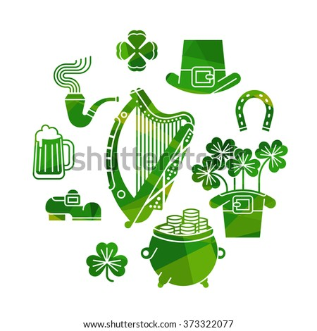 Irish Harp Stock Images, Royalty-Free Images & Vectors | Shutterstock