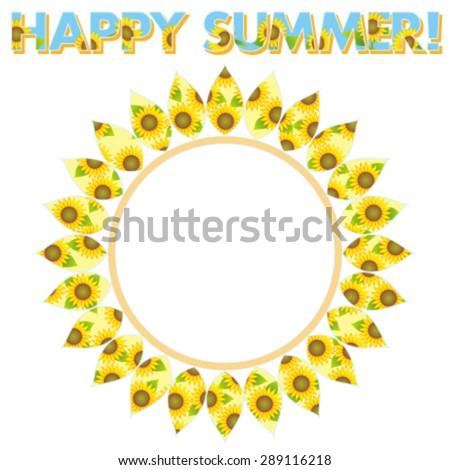 Happy Summer! - stock vector